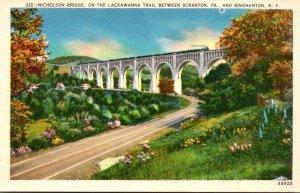 New York Binghamton Nicholson Bridge
