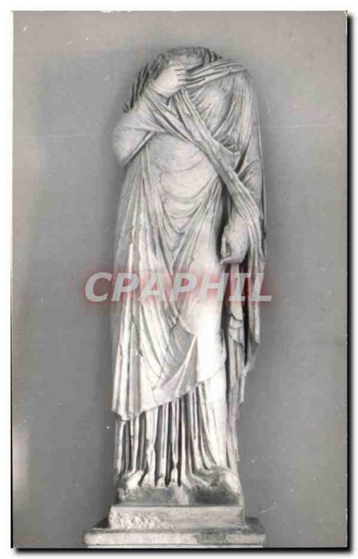 Postcard Modern Carmona Necropolis Romana Estatua Servilia
