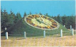 The Floral Clock, International Peace Gardens, North Dakota, Manitoba, Chrome