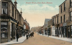 DUNOON , Scotland , 1914 ; Argyle Street , from East