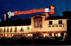 California San Francisco Geraldi's #9 Fishermen's Grotto Front View...