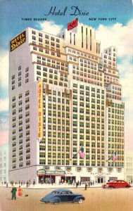 New York New York City Hotel Dixie Times Square