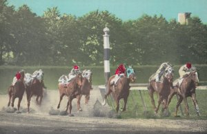 Belmont Park , L.I., New York, 1930s: Horse Race
