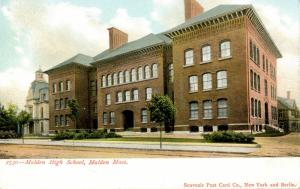 MA - Malden. High School