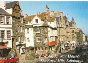 Scotland Postcard - John Knox's House - The Royal Mile - Edinburgh - Ref TZ2993