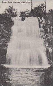 Maryland Oakland Muddy Creek Falls Albertype