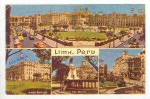 Lima, Peru, 4-views, PU1960