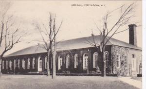 New York Fort Slocum Mess Hall