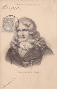 Hommes de France Celebres, Bernardin de St. Pierre, PU-1903 ; TUCK