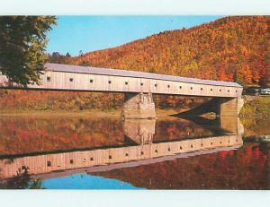 Unused Pre-1980 COVERED BRIDGE Windsor - Cornish Vermont VT t7683-22