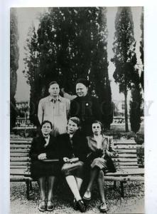 182027 writer Arkady Gaidar in Yalta in 1940 old postcard