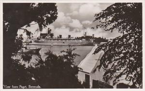 Bermuda View From Paget Real Photo