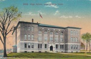 NEW BRITAIN , Connecticut, 1900-10s; High School