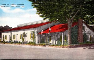 California Monterey First California Theatre
