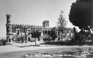 Mexico - Cuernavaca, Palace of Cortez  *RPPC