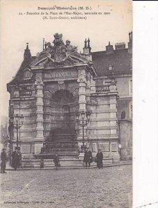 France Besancon Fontaine de la Place de l'Etat Major