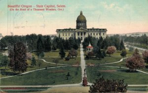 USA Beautiful Oregon State Capitol Salem 05.67