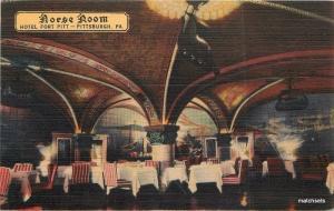1940s Hotel Fort Pitt Norse Room Restaurant Pittsburgh Pennsylvania 2170