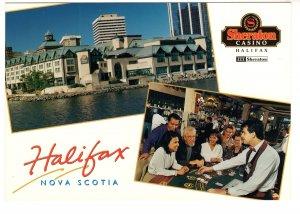 Large 5 X 7 inch, Sheraton Casino, Halifax, Nova Scotia, Interior