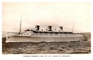 S.S. Queen of Bermuda , Furness Bermuda Line , RPC