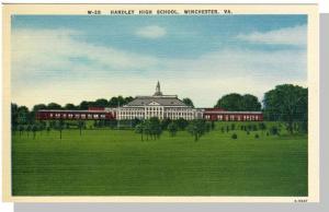 Winchester, Virginia/VA Postcard, Handley High View, Nr Mnt!