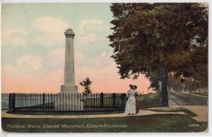 Cleeves Monument, Portland ME