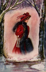 Lady in Red   (Winsch back)