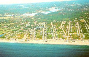 Rhode Island Misquamicut Aerial View