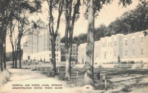 USA - General Medical and Surgical Hospital and Nurses house Togus Maine 01.63