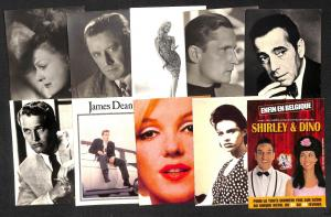 Cinema Variety Music stars lot 25 postcards
