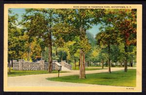 Band Stand in Thompson Park,Watertown,NY