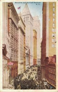USA Broad St. and the Curb Brokers New York City Posted 01.99