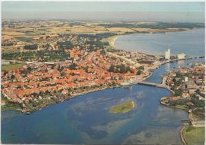 Kerteminde, Denmark, used Postcard