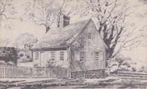 AS: Geo. Turner, Anna Catharina House, In Old Salem, WINSTON-SALEM, North Car...