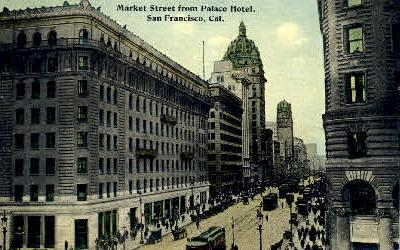 Market Street San Francisco CA Unused