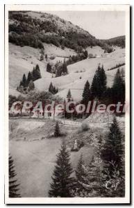 Postcard Old Route De Morez Morez In Les Rousses
