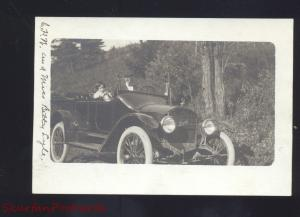 RPPC ANTIQUE AUTO CAR MAXWELL AUTOMOBILE VINTAGE OLD REAL PHOTO POSTCARD