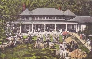 Virginia Hot Springs Luncheon Casino Lawn The Homestead Hotel Albertype
