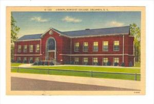 Library, Benedict College (Black College) , Columbia , South Carolina, 30-40s