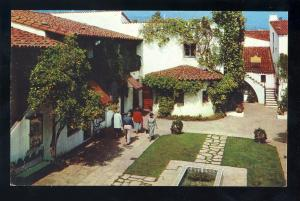 Santa Barbara, California/CA Postcard, El Paseo Shopping Area, Casa de la Guerra