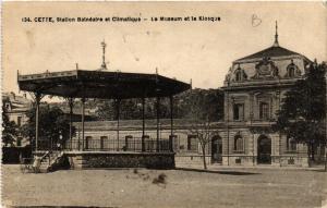 CPA  Cette, Station Balnéaire et Climatique - Le Museum et le Kiosque   (510630)