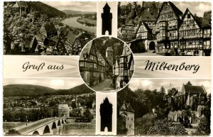 Germany - Gruss Aus Miltenberg (Multi-View)  *RPPC