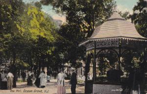 OCEAN GROVE , New Jersey, PU-1923; The Well