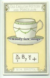 su2021 - Old English Pottery & Porcelain - Bristol - postcard Chairman Cigs