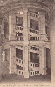 Le Chateau, Le Grand Escalier, Chambord (Loir et Cher), France, 1900-1910s