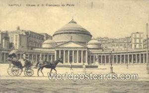 Napoli, Italy, Italia Chiesa di S Francesco da Paola  Chiesa di S Francesco d...
