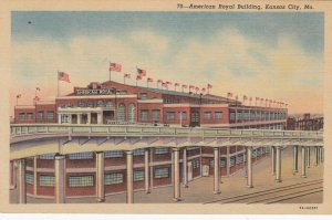 KANSAS CITY , Missouri, 1930-1940s; American Royal Building