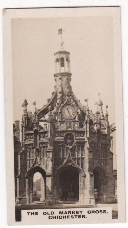Cigarette Card  Westminster British Royal & Ancient Buildings No. 38 Chichester