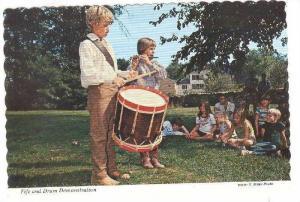 Fife and Drum Demonstration, Old Sturbridge Village, Massachusetts, 1950-1970s