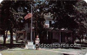 Boyhood Home of General Dwight D Eisenhower Abilene, KS, USA Unused